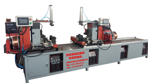 Four welding machines